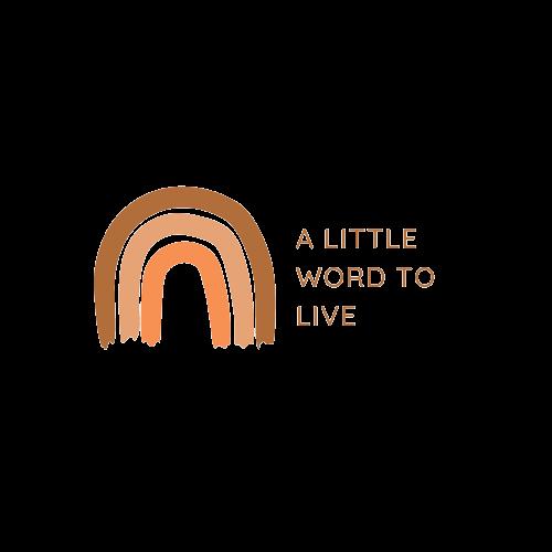 jastitahn | a little word to live
